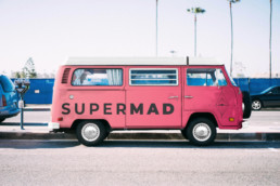 Supermad Volkswagen Car Mockup